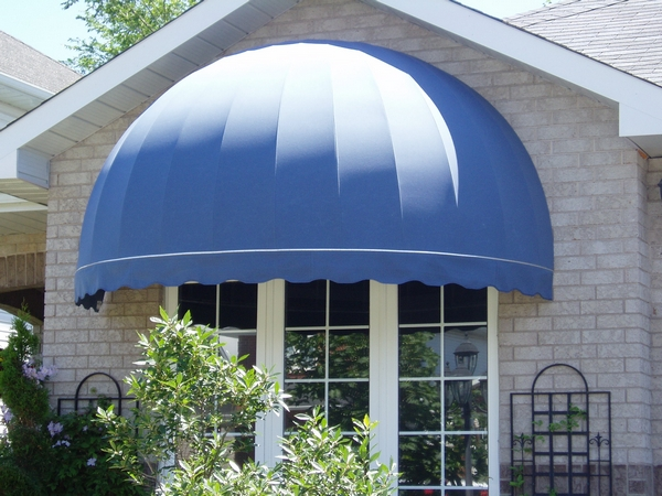 Quaterball awning